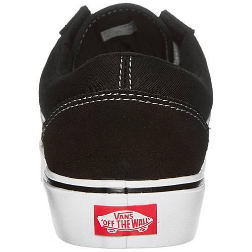 Vans Old Skool Lite Sneaker Herren schwarz weiß im Online