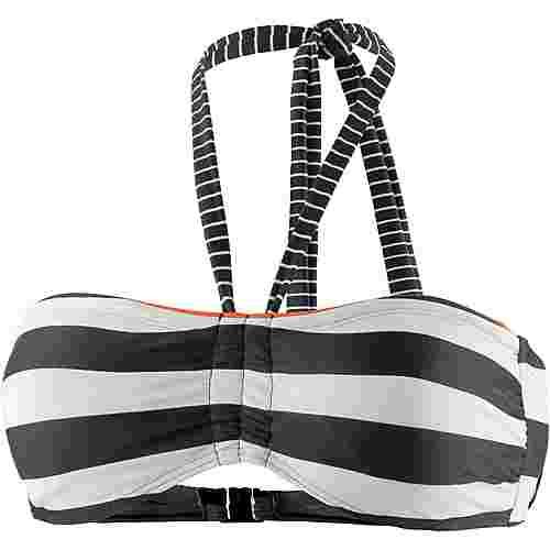 ESPRIT Redondo Beach Bikini Oberteil Damen schwarz/weiß