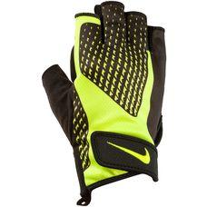 Nike Fitnesshandschuhe Herren schwarz/gelb