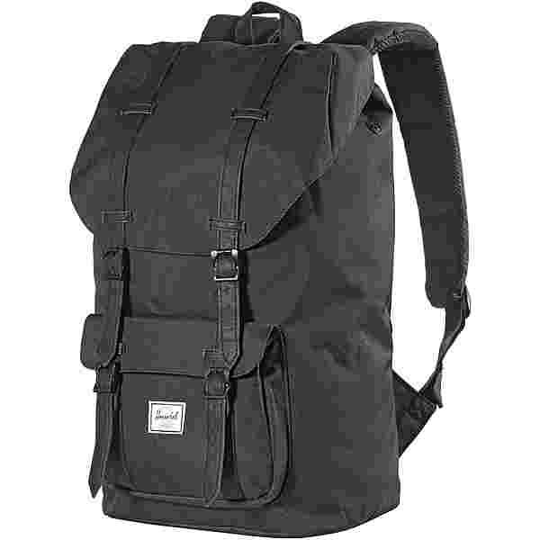 Herschel Rucksack Little America Daypack black-black