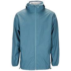 RAINS Base Jacket Regenjacke blau