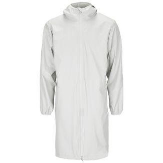 RAINS Long Base Jacket Regenjacke Herren beige