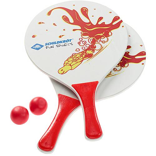Schildkröt Fun Sports Beachball Set Spiele Beachballset weiß/rot