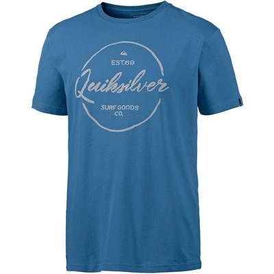 Quiksilver Classic Printshirt Herren blau
