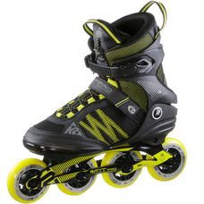 K2 FIT 84 Pro M Fitness Skates Herren schwarz/gelb