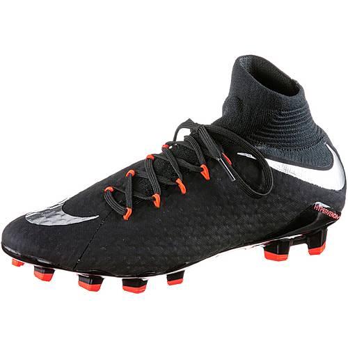 Nike HYPERVENOM PHATAL DF III FG Fußballschuhe Herren schwarz/silber im  Online Shop von SportScheck kaufen