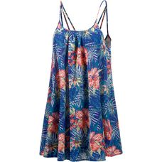Roxy Windy Fly Away Print Dress Minikleid Damen royal/koralle/jade