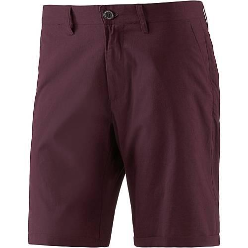 iriedaily Golfer Chambray Shorts Herren weinrot