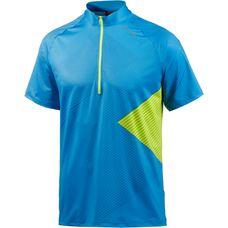 Löffler Monaco Fahrradtrikot Herren blau/gelb