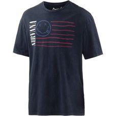 Jack & Jones Printshirt Herren dunkelblau