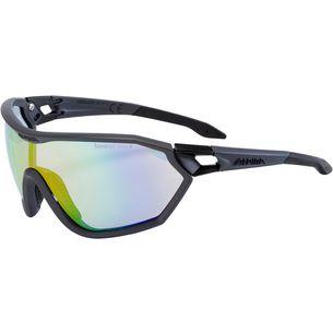ALPINA S-WAY VLM+ Sportbrille dunkelgrau