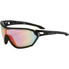 ALPINA S-WAY QVM+ Sportbrille schwarz