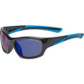 ALPINA FLEXXY YOUTH Sportbrille Kinder schwarz/blau