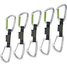 EDELRID Slash Wire Expressen schwarz/grün