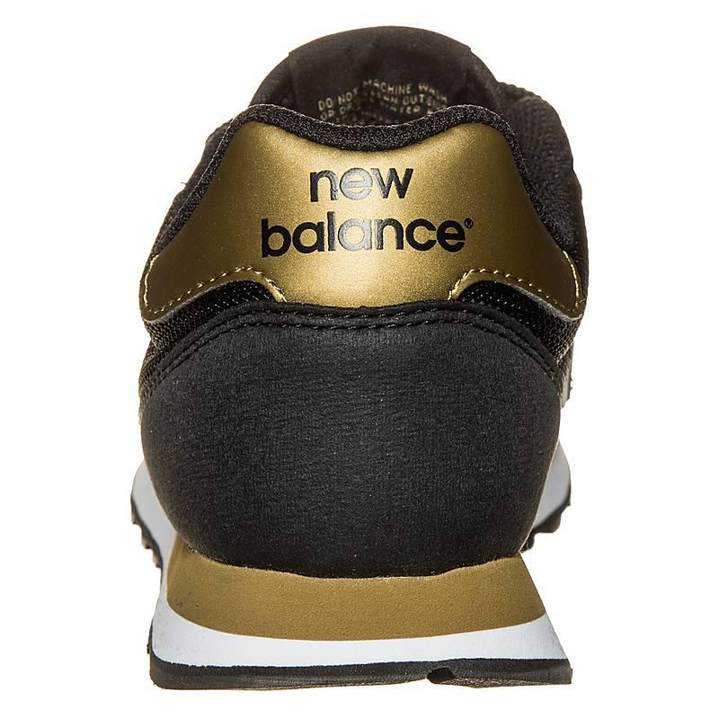 new balance damen schwarz gold