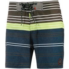 Protest Crime Boardshorts Herren anthrazit/grün