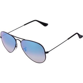 RAY-BAN Aviator Large Metal 0RB3025 Sonnenbrille shiny black