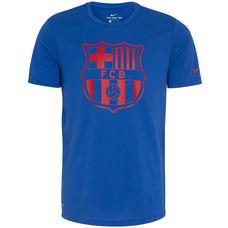 Nike FC Barcelona Dry Crest Fanshirt Herren blau / rot