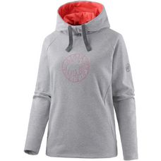 Mammut Logo Hoodie Damen grau