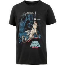 DEDICATED Printshirt Herren black