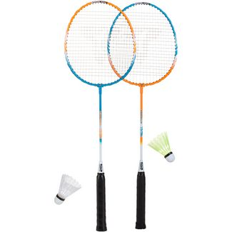 Talbot-Torro Badminton Set grün/orange