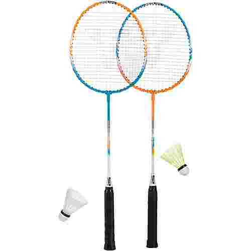 Talbot-Torro Badminton Set grün/orange