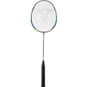 Talbot-Torro Fighter 4.6 Badmintonschläger silber/blau/gelb
