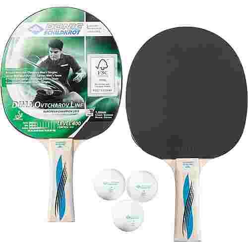 Donic-Schildkröt Set Ovtcharov 400 Tischtennis Set schwarz