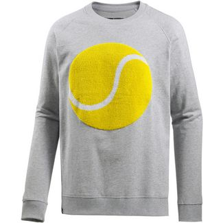 DEDICATED Sweatshirt Herren grey melange