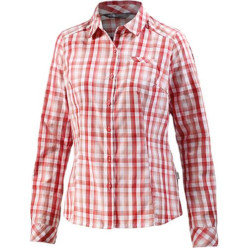The North Face Zion Funktionsbluse Damen rot/weiß