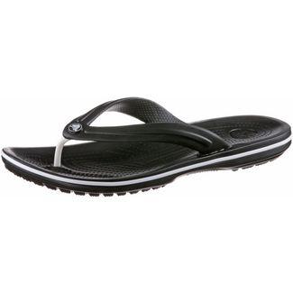 Crocs Crocband Flip Zehentrenner schwarz
