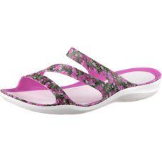 Crocs Swiftwater Graphic Sandalen Damen pink