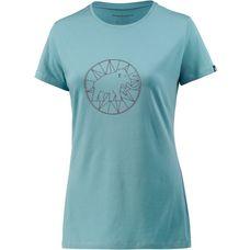 Mammut Logo T-Shirt Damen hellblau