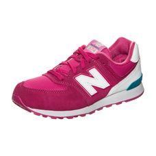 NEW BALANCE KL574-CZG-M Sneaker Kinder pink / weiß