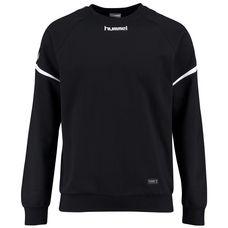 hummel Authentic Charge Funktionssweatshirt Herren schwarz / weiß