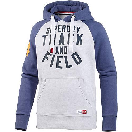 Superdry Sweatshirt Herren hellgrau/navy