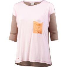 Mazine Langarmshirt Damen grau/rosa
