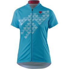 Gore Element Digi Heart Fahrradtrikot Damen scuba blue