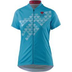 Gore Element Digi Heart Fahrradtrikot Damen scuba blue