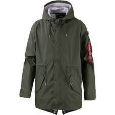 Alpha Industries FISHTAIL Regenmantel Herren oliv