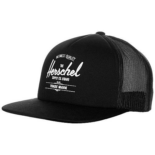 Herschel Whaler Mesh Cap schwarz