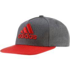 adidas Cap Kinder DGREYH/RED/DKGREY