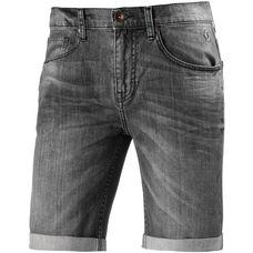 SCOTT Denim Short Shorts Herren grau