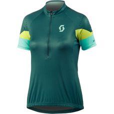 SCOTT Endurance 30 S/SL Fahrradtrikot Damen grün/gelb