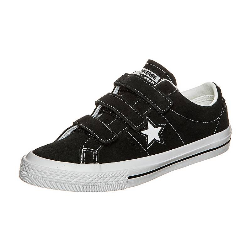 buy online 774e4 cada9 CONVERSEOne Star 3V SneakerKinder schwarz   weiß