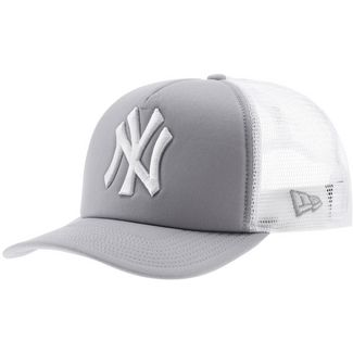 New Era Clean Trucker NY Yankees Cap hellgrau/weiß