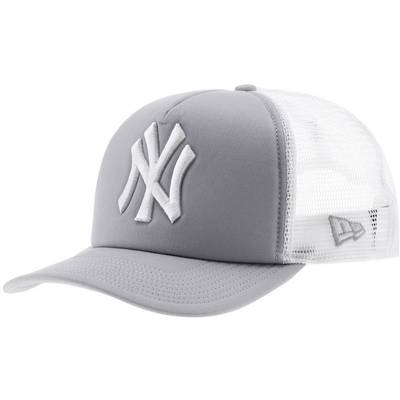 New Era Clean Truckers NY Yankees Cap hellgrau/weiß