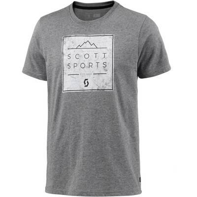 SCOTT  CASUAL 10 Printshirt Herren grau