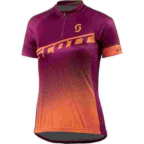 SCOTT Endurance 40 S/SL Fahrradtrikot Damen lila/orange
