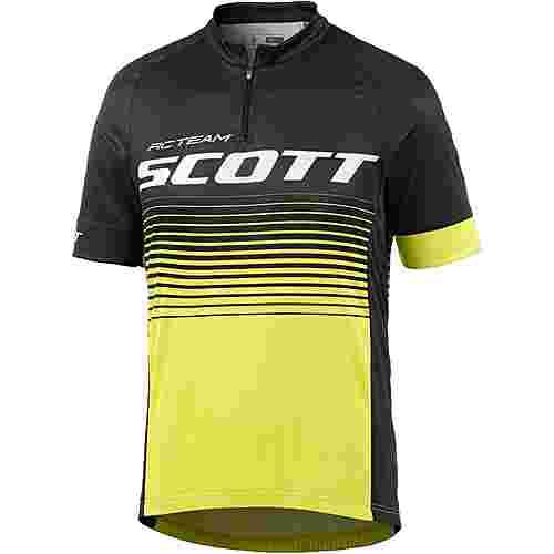 SCOTT RC Team 20 Fahrradtrikot Herren schwarz/gelb